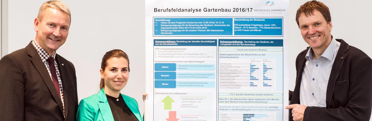 Berufsfeldanalyse Gartenbau 2016/2017